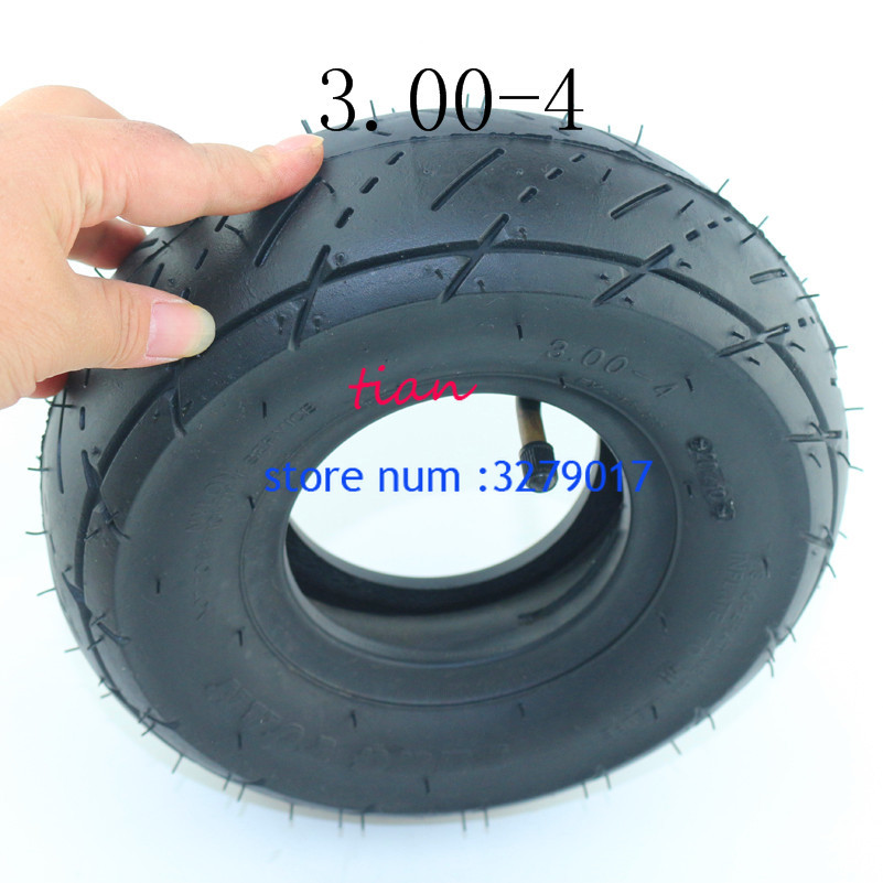 4.10//3.5-4 TIRE AND INNER TUBE FOR GOPED BIGFOOT BIG FOOT GAS SCOOTER