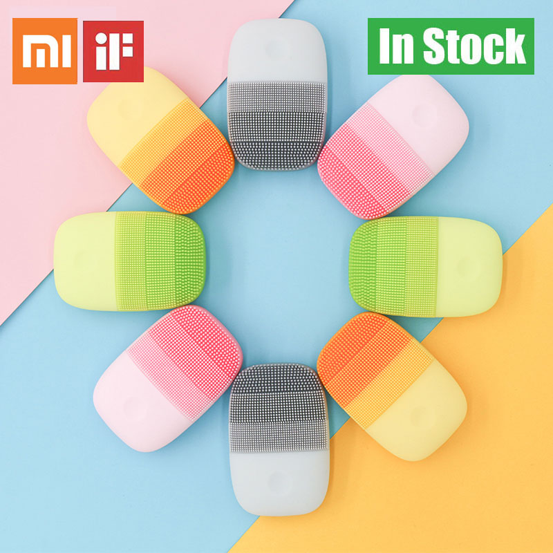 Xiaomi Massage-Brush Face-Care-Cleaner Electric Rechargeable title=