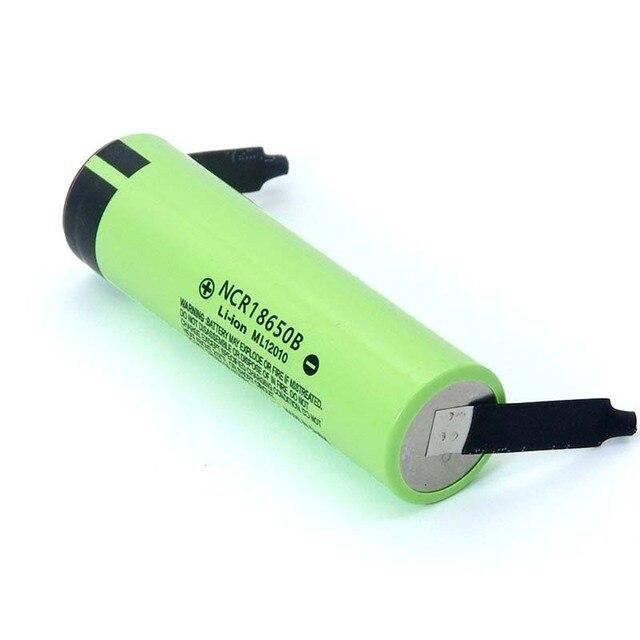 2021 New Original NCR18650B 3.7 v 3400mah 18650 Lithium Rechargeable Battery Welding Nickel Sheet batteries 3