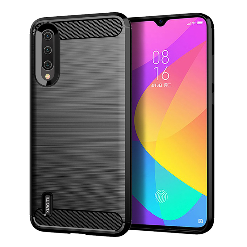 Carbon Fiber Silicone Case For <font><b>Xiaomi</b></font> <font><b>Mi</b></font> <font><b>A3</b></font> Case <font><b>Cover</b></font> <font><b>Mi</b></font> <font><b>A3</b></font> Lite Soft TPU Phone Fundas For <font><b>Xiaomi</b></font> <font><b>Mi</b></font> CC9e CC 9 9E Cases Coque image