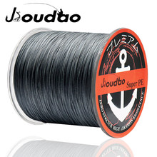 Jioudao 8 Strands 1000M 500M 300M Multi Color Braided Fishing Line Sea Saltwater Carp Fishing Weave Extreme 100% PE(China)