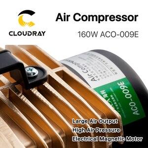 Image 5 - Cloudray 160W אוויר מדחס חשמלי מגנטי אוויר משאבת עבור CO2 לייזר חריטת מכונת חיתוך ACO 009E