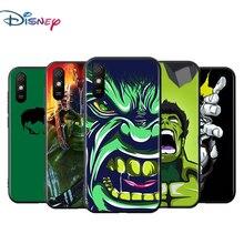 Hulks Avengers Voor Xiaomi Redmi 9T 9I 9AT 9A 9C 9 8A 8 7A 7 6A 6 5A 5 4X Pro Prime Plus Zwart Soft Phone Case