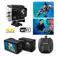 2.0HD 4K Waterproof Sports Video Action Camera Camcorder 30fps 170 Degree WiFi Remote Control Video Recoder
