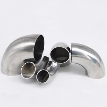 19mm/25/32/38/45/51mm OD Sanitary Butt Weld 90 Degree Elbow Bend Pipe 304 stainless steel Fitting For Home brew Wine Beer 1pc a type keg coupler draft beer dispenser for home mayitr brew air valve stainless steel connectors wine beer coupler head