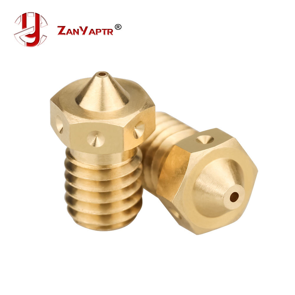 V6 Nozzles 3D Printer Nozzle For E3D Nozzles Hotend Titan Extruder For 3D Printers Hotend
