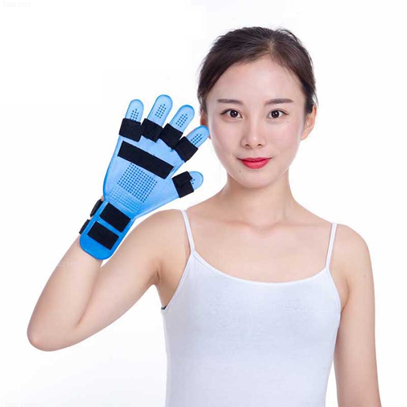 Ortesi di formazione finger splint finger dito piatto da polso allenatore riabilitazione ictus emiplegia paraplegic mano di fissaggio
