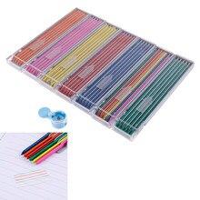12 pièces/boîte 2.0mm couleur crayon mécanique plomb coloré plomb recharge Art croquis dessin plomb école couleur crayon papeterie