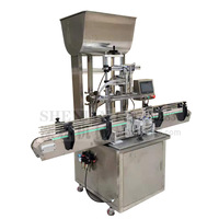 SHENLIN 2 HEADS Liquid filler Automatic Beverage Production Line Cans Beer Honey Paste Oil Filling Machine Supplier