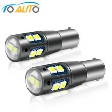 2Pcs BA9S H21W BAY9S Led T4W BAX9S H6W Led Lamp T2W T3W H5W Canbus Auto-interieur Verlichting Dome Reading instrument Lamp Auto 12V