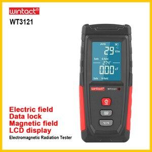 WINTACT EMF tester Electromagnetic Field Radiation Detector Tester Emf Meter Handheld Portable Emission Dosimeter EMF tester