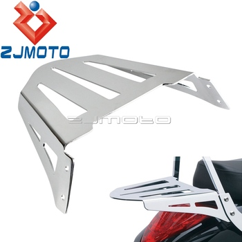 For Cobra Flat Sissy Bar Luggage Rack For Suzuki Boulevard M109R M109RZ M109R2 BOSS Motorcycle Rear Luggage Rack Holder Stand