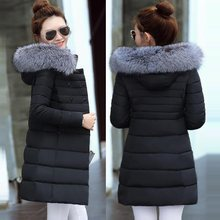 Fake Fur Parkas Women Down Jacket New 2019 Winter Jacket Women Thick Snow Wear Winter Coat Lady Clothing Female Jackets Parkas(China)