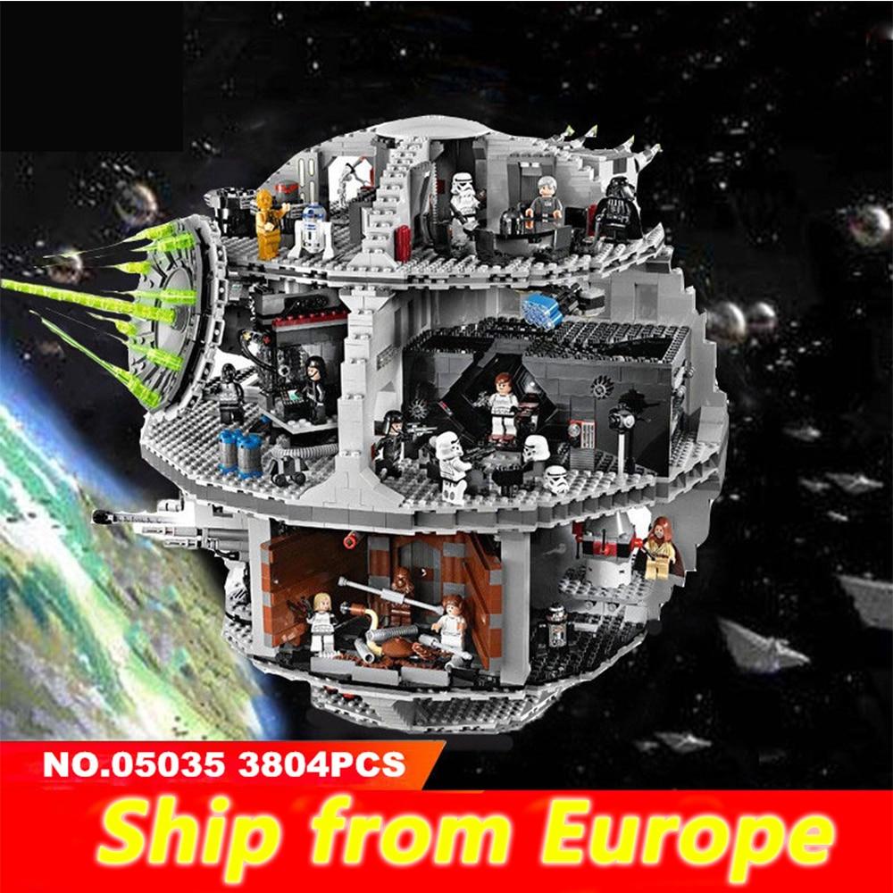 05035 Death Star 05007 Wars série briques blocs de construction compatibles Legoing 10188 75105 jouets pour enfants cadeau de noël-in Blocs from Jeux et loisirs    1