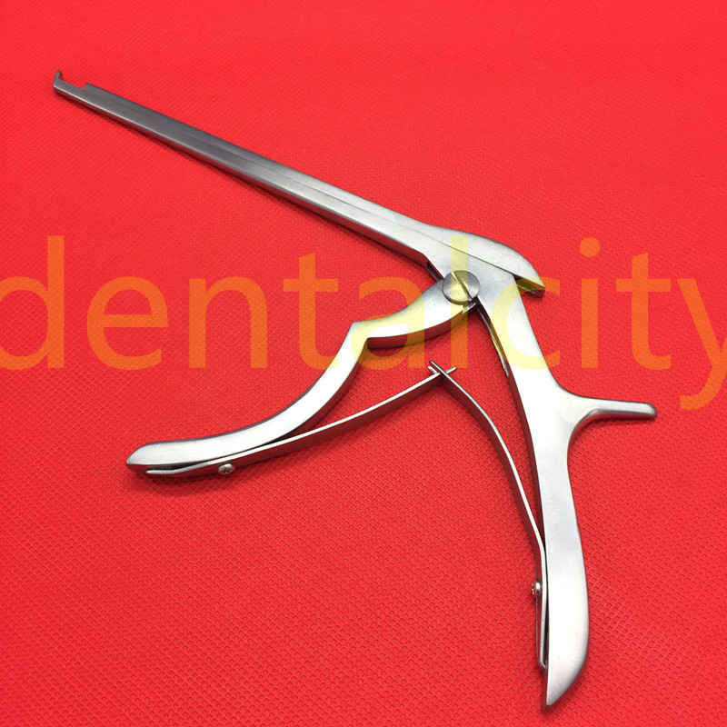 185mm Kerrison Rongeur 3mm bite 130 derece Veteriner ortopedi enstrüman'da  Grup 1