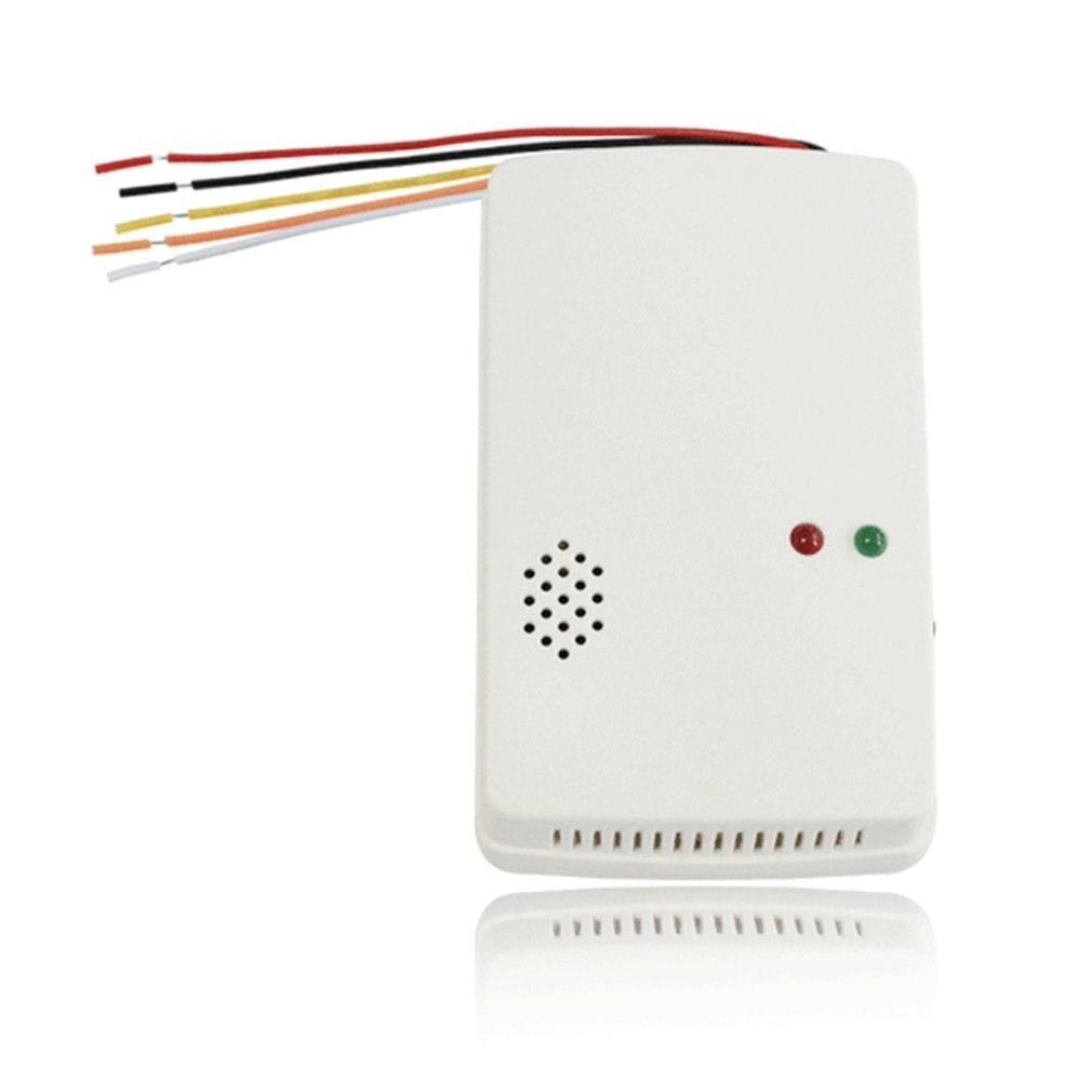 Портативный автономный детектор утечки газа для домашней безопасности, детектор утечки газа, тестер пропанового метана, датчик