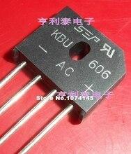 цена на 10pcs/lot  KBU606 6A/600V