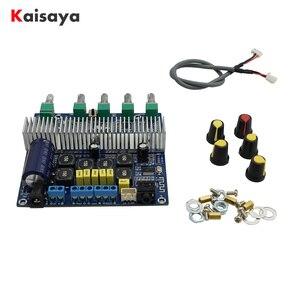 Image 1 - TPA3116D2 Bluetooth 4.2 Subwoofer płyta wzmacniacza Audio 2.1 kanał wysokiej mocy 2*50W + 100W TPA3116 amplificador DC12V 24V E1 009