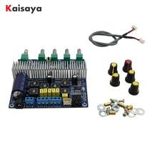 TPA3116D2 bluetooth 4.2サブウーファーオーディオアンプボード2.1チャンネルハイパワー2*50ワット + 100ワットTPA3116 amplificador DC12V 24V E1 009