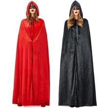 New Halloween Vampire Cloak Cosplay Costume For Women Adult