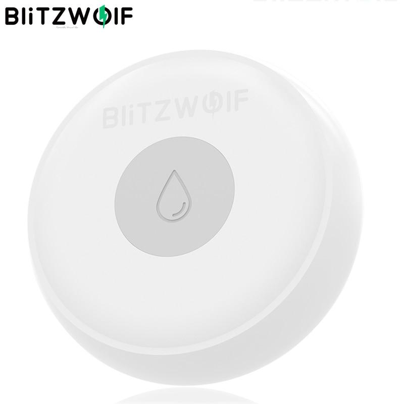 BlitzWolf Wireless ZigBee Smart Home Water Leak Sensor Detector Home Safety Smart APP Remote Control Work With BW-IS1 Gateway
