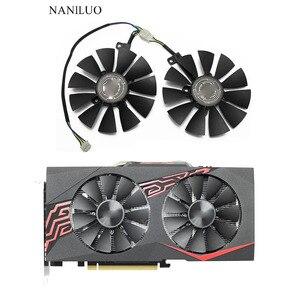 Цена товара 88 мм T129215SU 0.50A для ASUS GTX1060 1070 Ti RX 470 580 Dual OC, цена