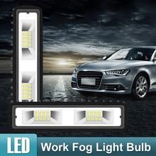 SUHU 2X 18W 12V 16led światło robocze żarówka Spot Beam Bar samochód SUV Off Road jazdy lampa przeciwmgielna wodoodporna Super jasne stylowe światła samochodu