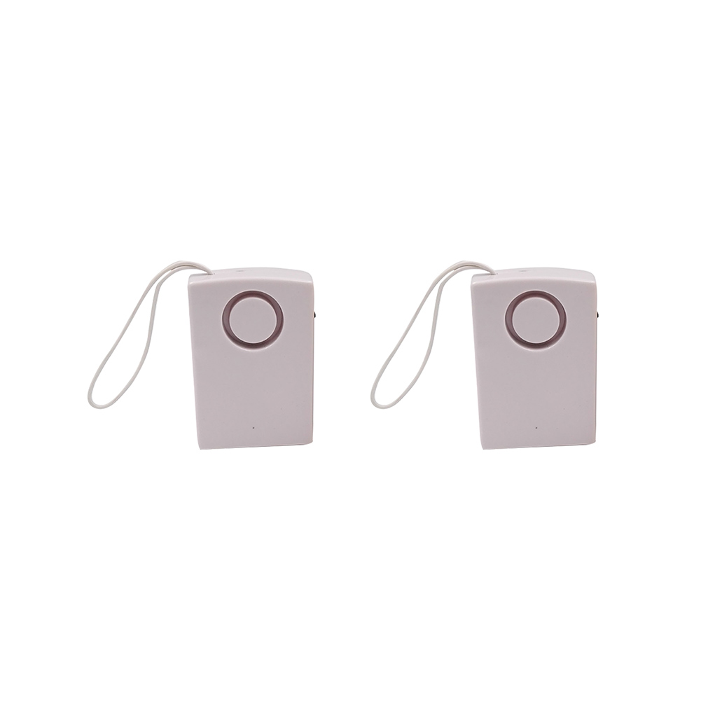 2pcs Human Body Universal Portable Door Sensor Hanging Handle Alarm Home Knob Touch Wireless Garage Inductive Office Anti Theft