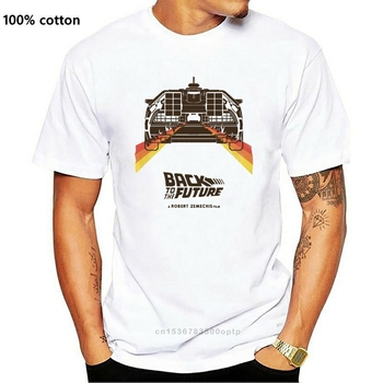 T-Shirt Back To The Future Back To The Future MC FLY Biff Marty Doc Brown(2) image
