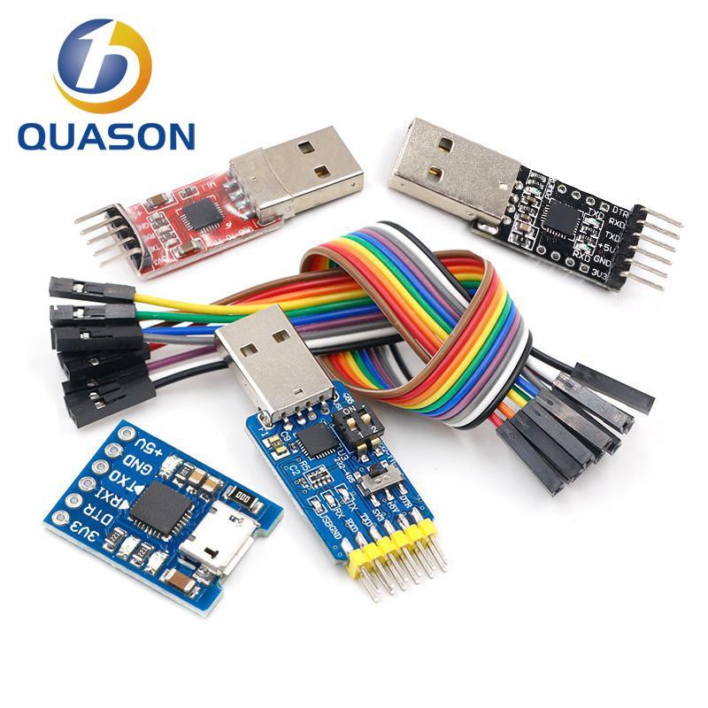 CP2102 USB 2,0 к UART TTL 5PIN Соединительный модуль последовательный преобразователь STC Замена FT232 CH340 PL2303