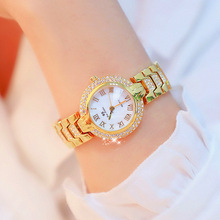 купить BS Brand Gold Watch Women Watches Ladies Creative Steel Women's Bracelet Watches Female Clock Relogio Feminino Montre Femme дешево