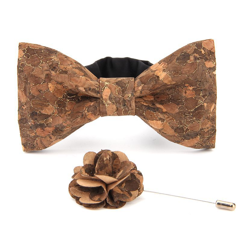 Vintage Wooden Hollow Bowtie Men/'s Fashion Natural Wood Leisure Bow Tie Necktie