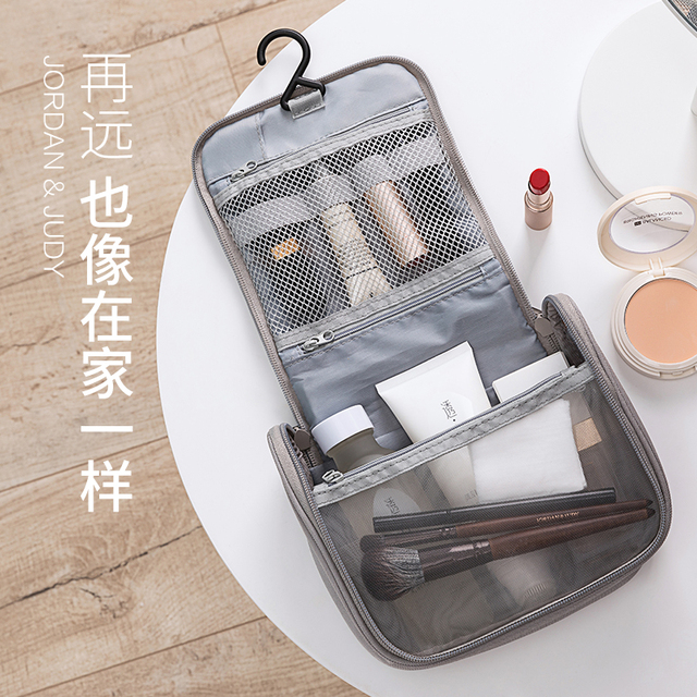 New Xiaomi Jordan&Judy Portable Travel Cosmetic Bag Neceser Hanging Wash Bag Neutral Make Up Bag Organizer Wash Storage Bag 5