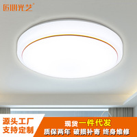 Acrylic Ceiling Lamp Library Bedroom Lamp High Side Circle Balcony Hallway Ceiling LED Lamp Lighting