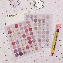 Morandi серии и бумажные наклейки для скрапбукинга DIY альбом журнал дневник подарок Happy planner декоративные наклейки
