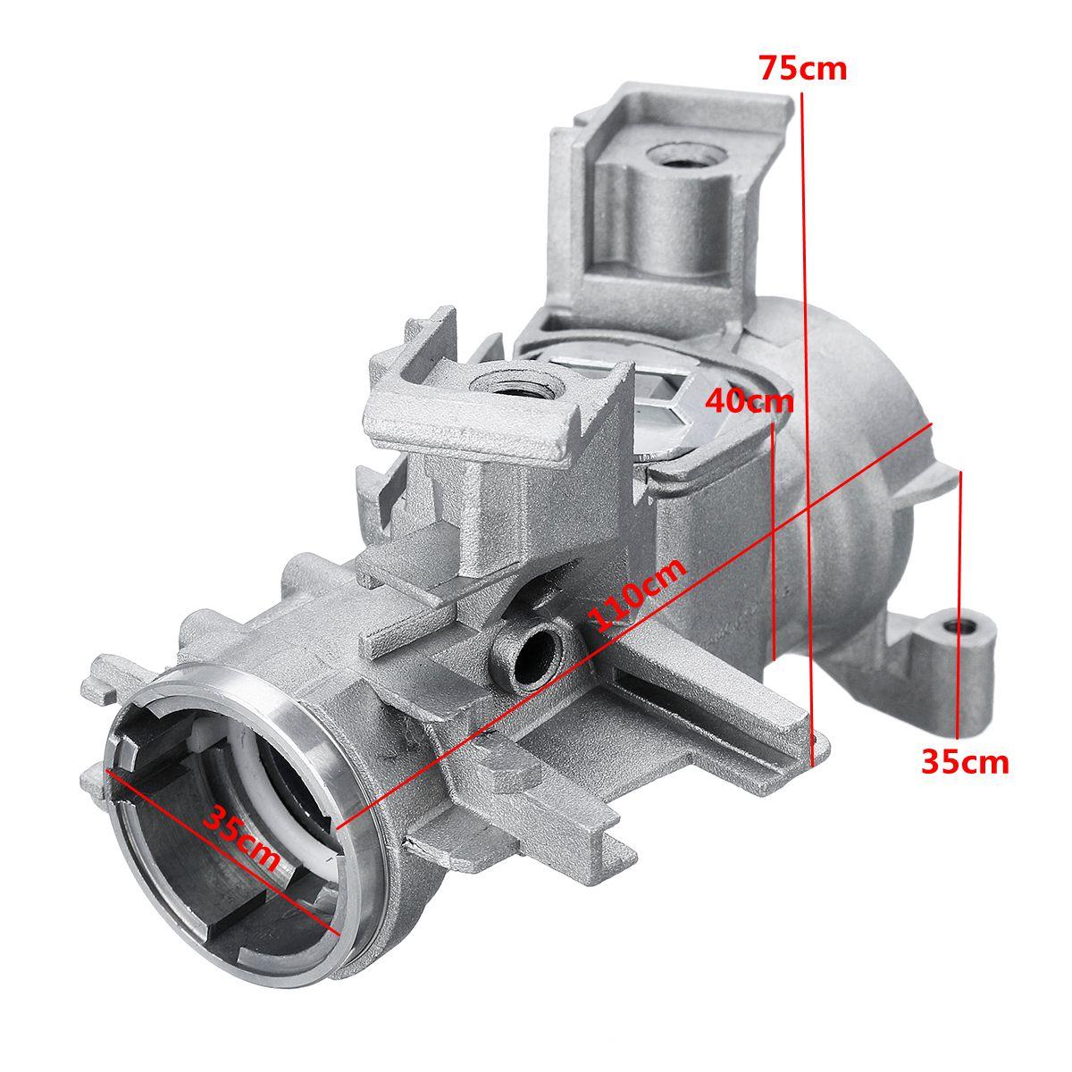 1K0905851B 1K0905865 Ignition Starter Switch Steering Lock Barrel Housing For VW for Golf for Jetta Tiguan for AUDI SEAT 3093604