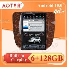 Android 9 PX6 4 64G Tesla Style Autoradio Car Radio Multimedia GPS Navigation For GMC Yukon Chevrolet Tahoe Silverado 2007 2012