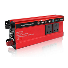 цена на Solar Inverter DC12V to AC 220V 3000W 4000W Car Inverter Power Inverter Voltage Transformer Converter Charger LCD Display