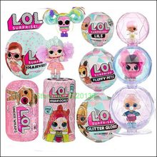 Hairgoals Makeover Series 2 L.O.L. Surprise! Glitter Globe LOLS Doll Winter Disco with Hair