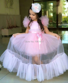 Princess Dress for Baby Girls Party Dresses for Girls 1 Year Birthday Dress Baby Clothing Christening Gown Vestido Infantil 2Y
