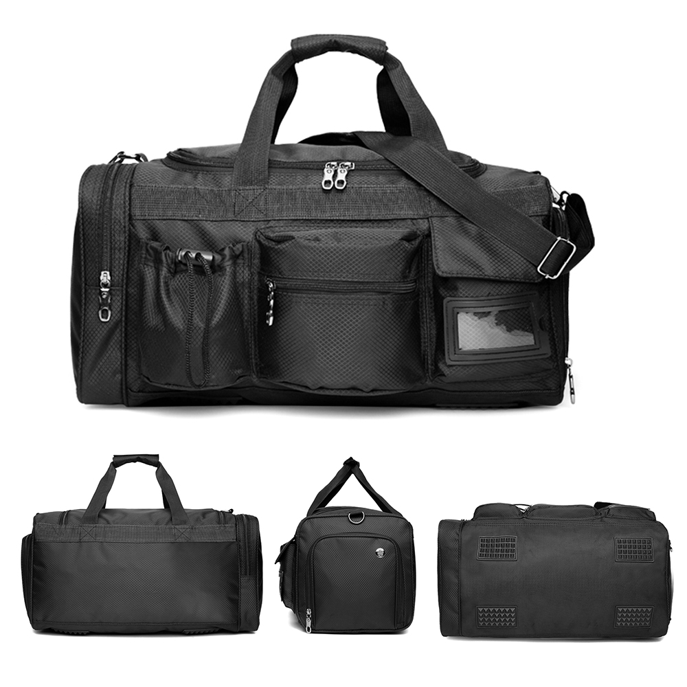 Waterproof Travel Duffel Bag with Shoe Compartment//Carry Handle on the Go