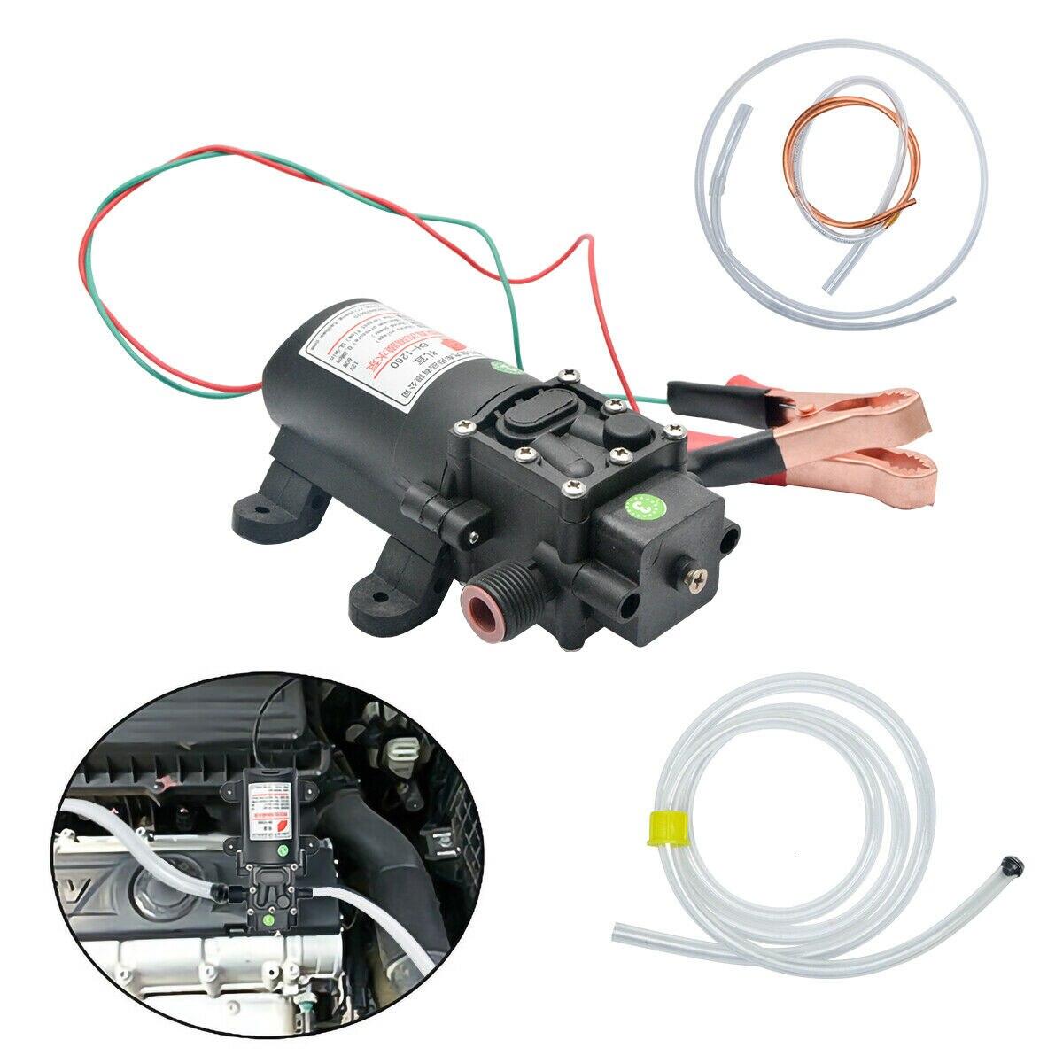 12v 오일 유체 액체 추출기 4.0l 보트 자동차 자동 펌프 오일 변경 펌프 키트 60 w