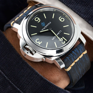 Image 4 - MAIKES Handmade włoska skóra zegarek pasek 18mm 19mm 20mm 21mm 22mm 24mm zegarek w starym stylu pasek dla Panerai Omega IWC Watchband