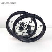 12 Cal ultralekki AL6061 aluminiowy zestaw kołowy dla dzieci rowerek biegowy kolorowy zestaw kołowy ze stopu aluminium dla Kokua 84mm część rowerowa