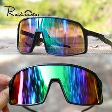 UV400 Outdoor Sport Eyewear Sunglasses Mountain Bike Glasses Cycling Running goggles 9 Colors Anti-Fog Design