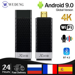 2021 Newest X96S Android 9.0 Smart fast TV Box Mini PC TV Stick DDR4 4GB 32GB Amlogic S905Y2 2.4/5G Dual WIFI BT4.2