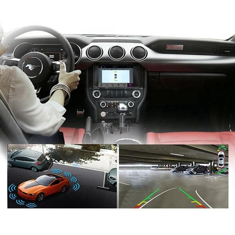 """מערכת ניווט GPS EASY AUTO רכב GPS Nav תמיכה אנדרואיד נגן MP3 8 """""""" HD מסך מולטימדיה מערכת ניווט רדיו Infotainment עבור פורד מוסטנג (4)"""