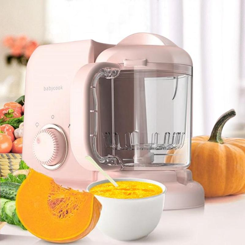 Portable Juice Environmental Protection PP and Stainless Steel Blender Household Fruit Mixer Baby Food Kitchen Tools Durable