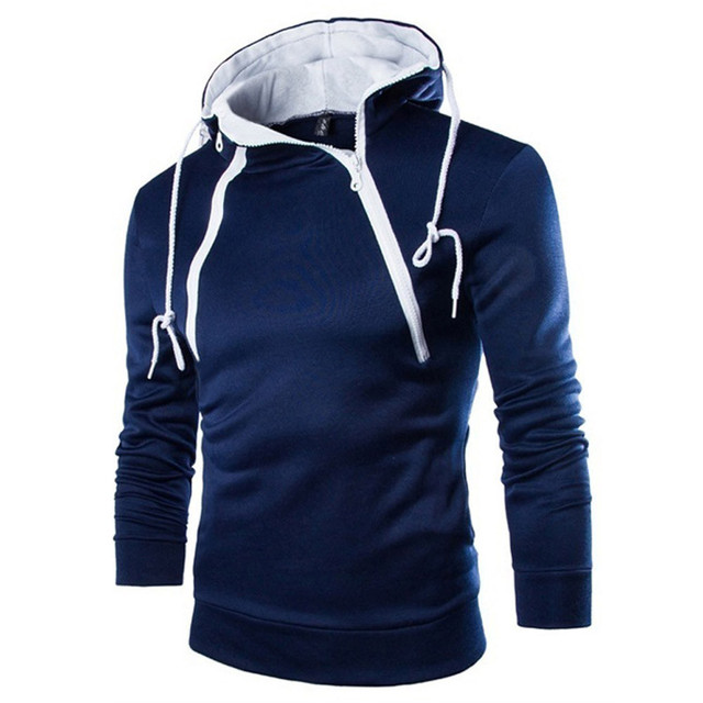 JAYCOSIN Hoodies Men's Autumn Long Sleeve Patchwork Hoodie Hooded Sweatshirt Top Tee Outwear Blouse Warm Sweatshirts Jacket Jun1 2