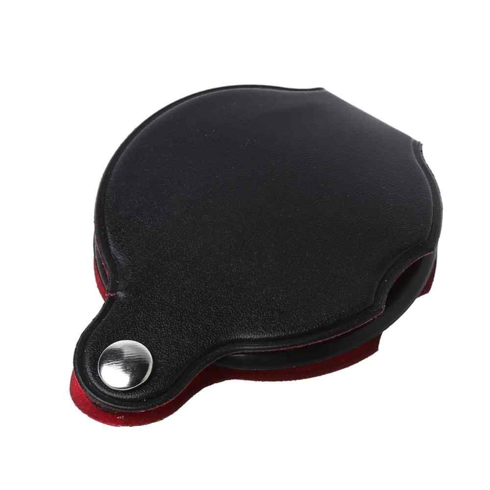 8X50 Mm Mini Bỏ Túi Gấp Trang Sức Kính Lúp Phóng Đại Mắt Kính Lúp Ống Kính